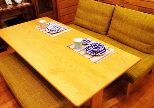 リビングダイニング3点(テーブル・ソファ・ベンチ)